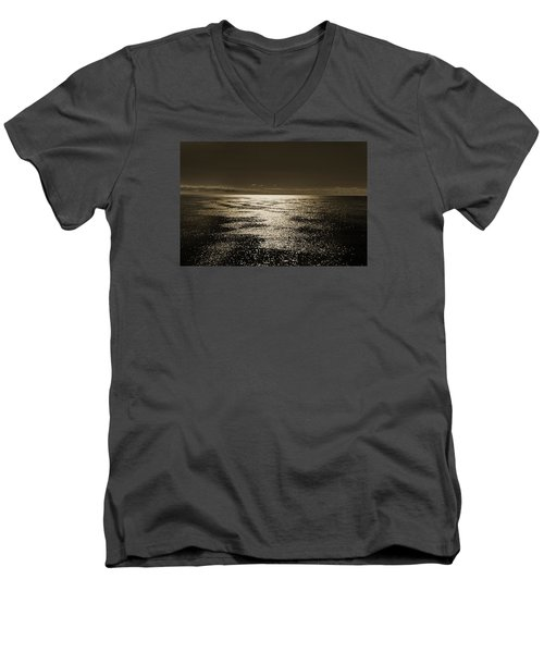 Baltic Sea. Men's V-Neck T-Shirt by Terence Davis
