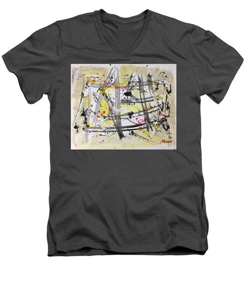 Bamboo Men's V-Neck T-Shirt