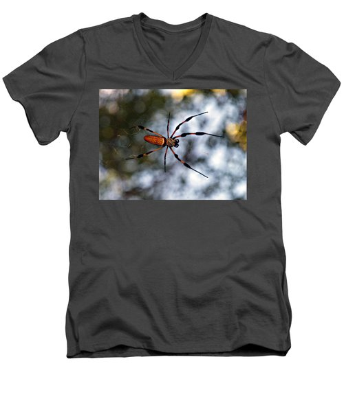 Banana Spider   3 Men's V-Neck T-Shirt