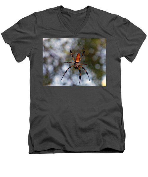 Banana Spider 2 Men's V-Neck T-Shirt
