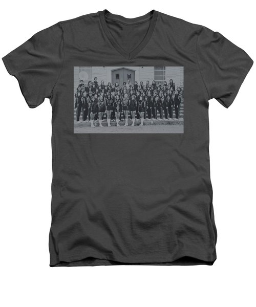 Band After Fire 76 Men's V-Neck T-Shirt