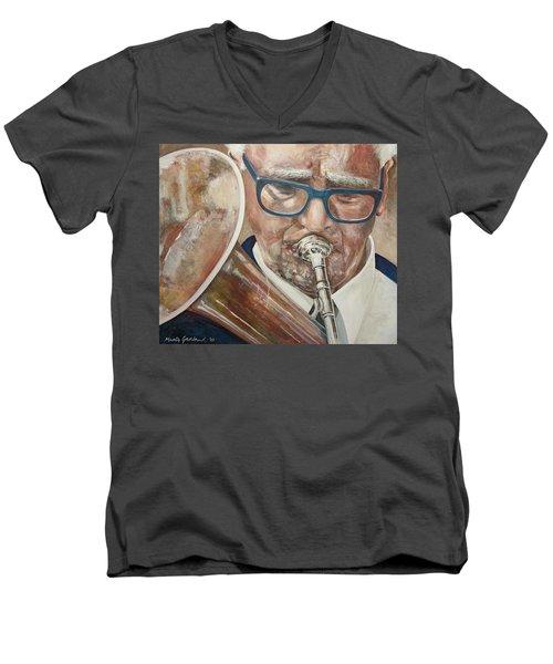 Band Man Men's V-Neck T-Shirt