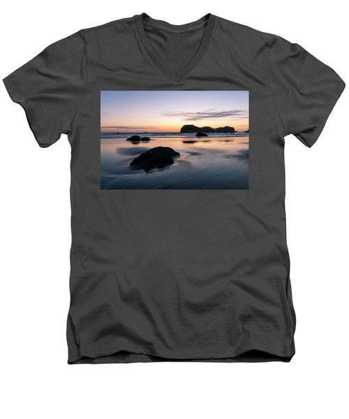 Bandon Reflections Men's V-Neck T-Shirt