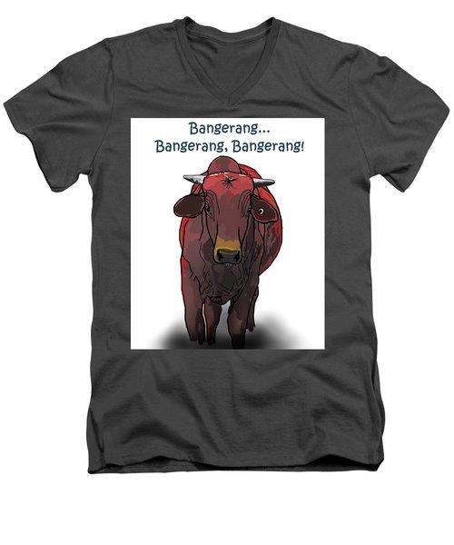 Bangerang Men's V-Neck T-Shirt