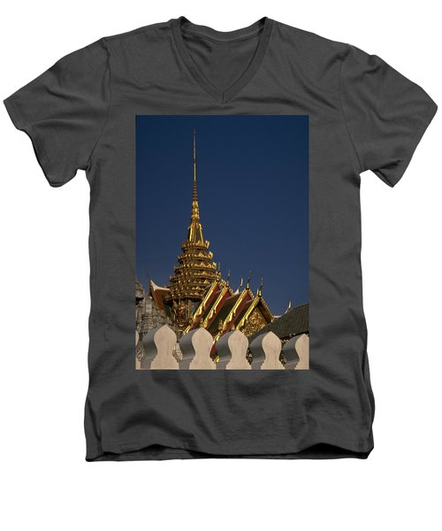 Bangkok Grand Palace Men's V-Neck T-Shirt