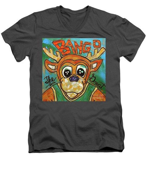 Bango The Great Men's V-Neck T-Shirt