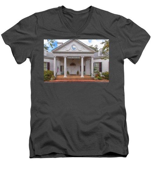 Banksia Mansion - Aiken, Sc Men's V-Neck T-Shirt