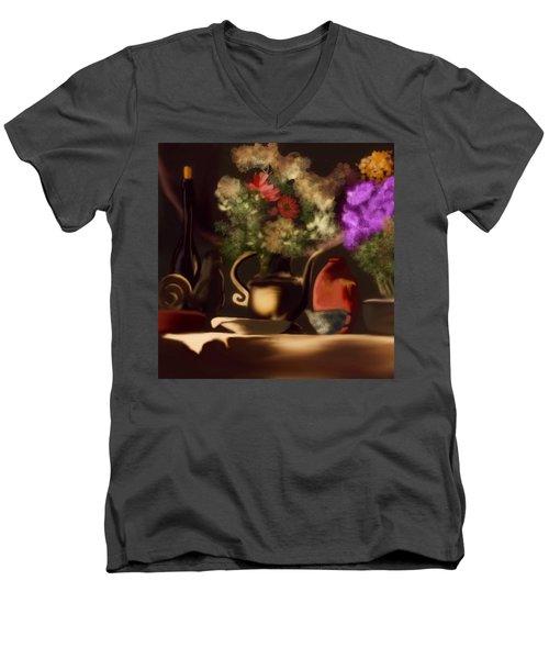 Banquet  Men's V-Neck T-Shirt