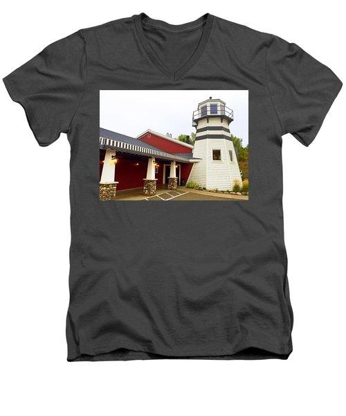 Bar Harbor Study 3 Men's V-Neck T-Shirt