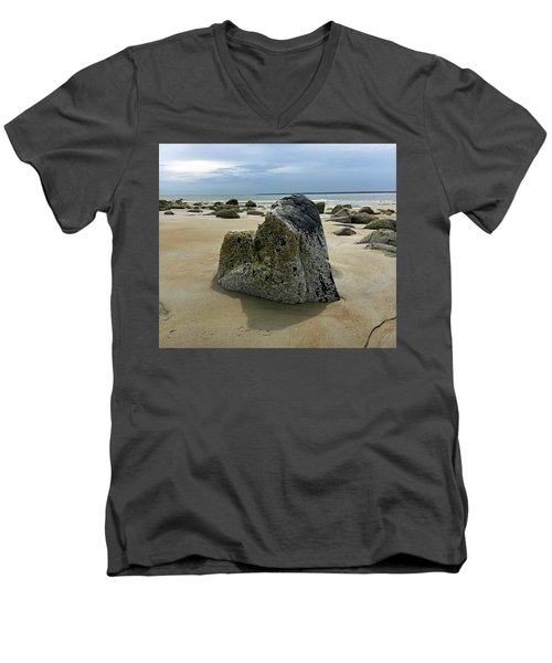 Bar Head Rocks Men's V-Neck T-Shirt