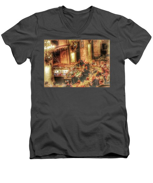 Bar Scene Men's V-Neck T-Shirt
