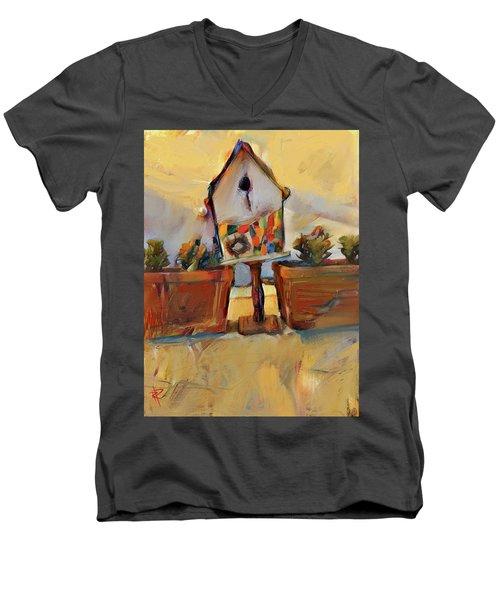 Barb's Bird House Men's V-Neck T-Shirt