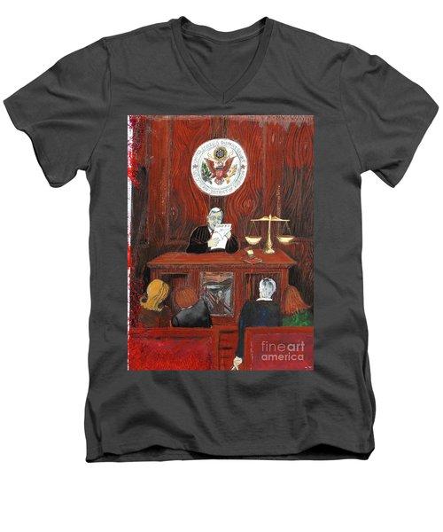 Bard Men's V-Neck T-Shirt