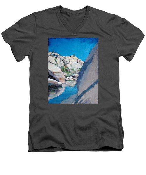 Barker Dam Men's V-Neck T-Shirt