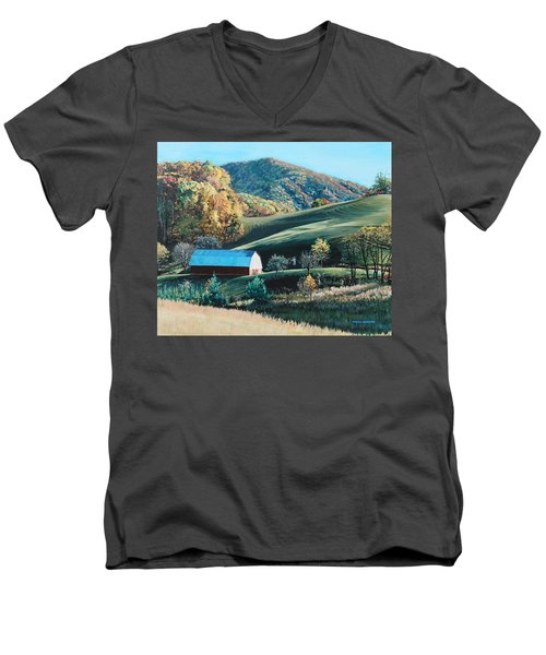 Barn At Blowing Rock Men's V-Neck T-Shirt