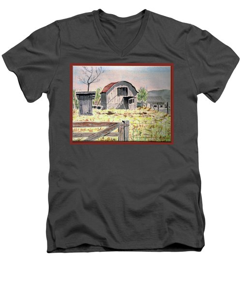 Barn On Fisk Rd Men's V-Neck T-Shirt