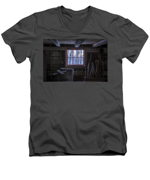 Barn Window II Men's V-Neck T-Shirt