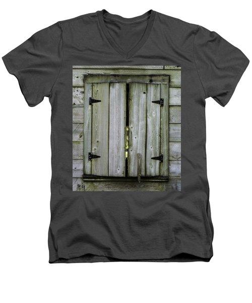 Barn Window, In Color Men's V-Neck T-Shirt
