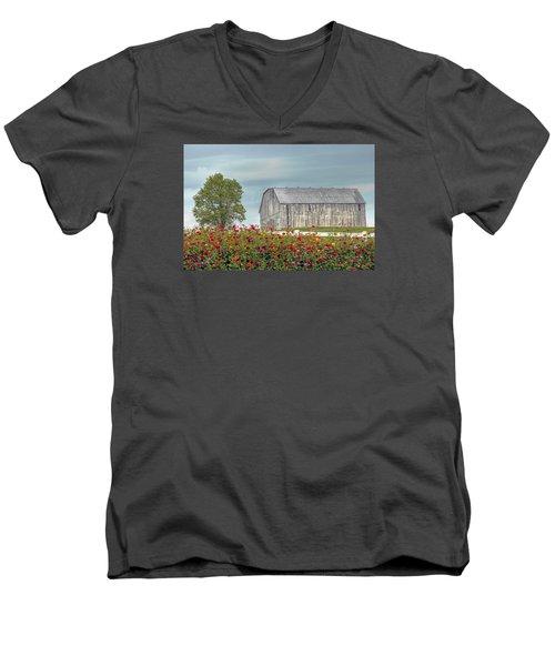 Barn With Charm Men's V-Neck T-Shirt
