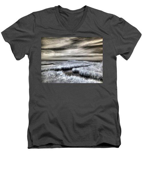 Barnegat Bay New Jersey Men's V-Neck T-Shirt