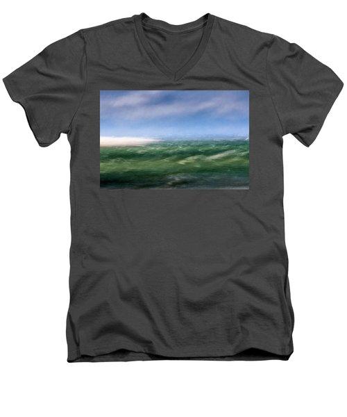 Barnstable Harbor 4 Men's V-Neck T-Shirt