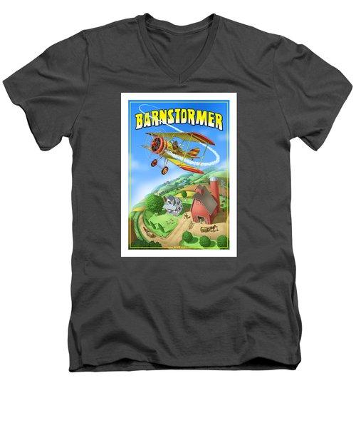 Barnstormer Men's V-Neck T-Shirt