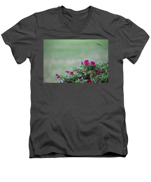 Barrel Of Flowers Men's V-Neck T-Shirt