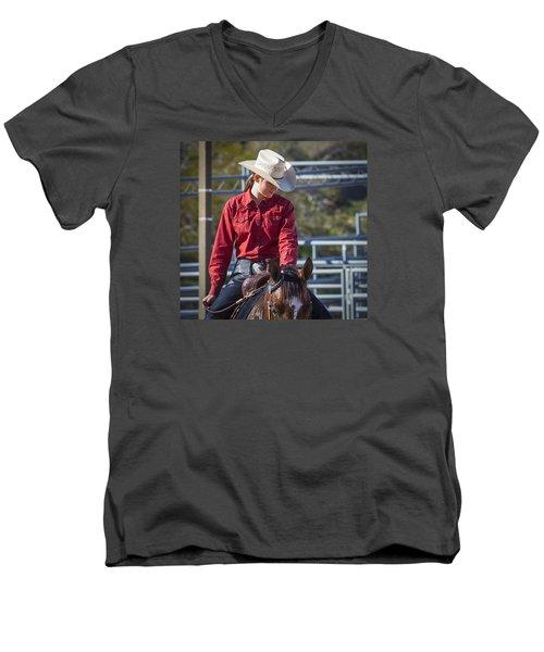 Barrel Racer Men's V-Neck T-Shirt