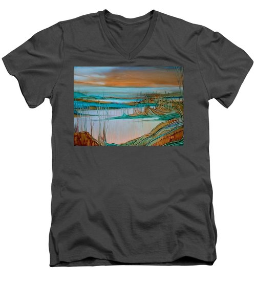 Barren Men's V-Neck T-Shirt