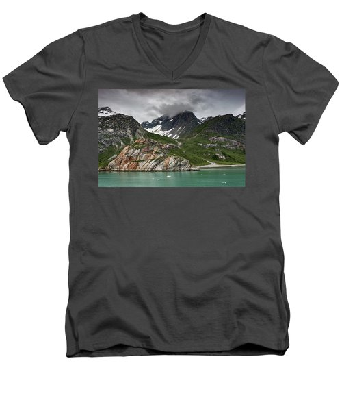 Barren Wilderness Men's V-Neck T-Shirt