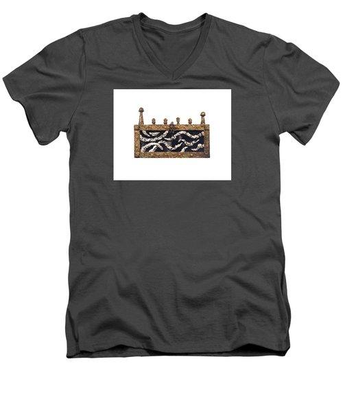 Barrier Men's V-Neck T-Shirt