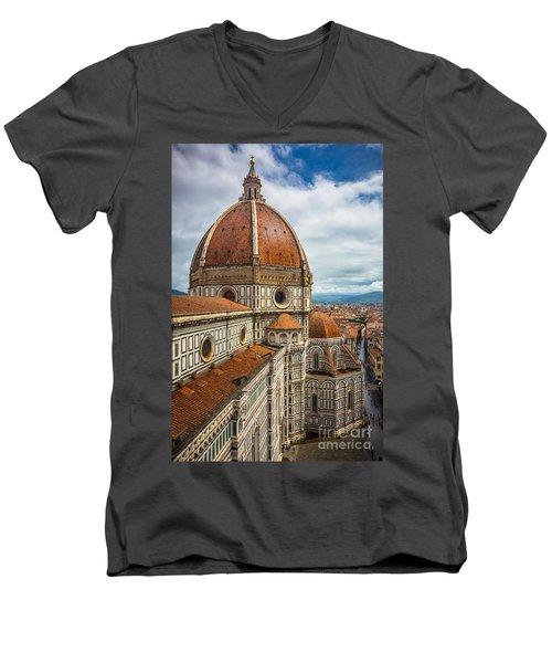 Basilica Di Santa Maria Del Fiore Men's V-Neck T-Shirt