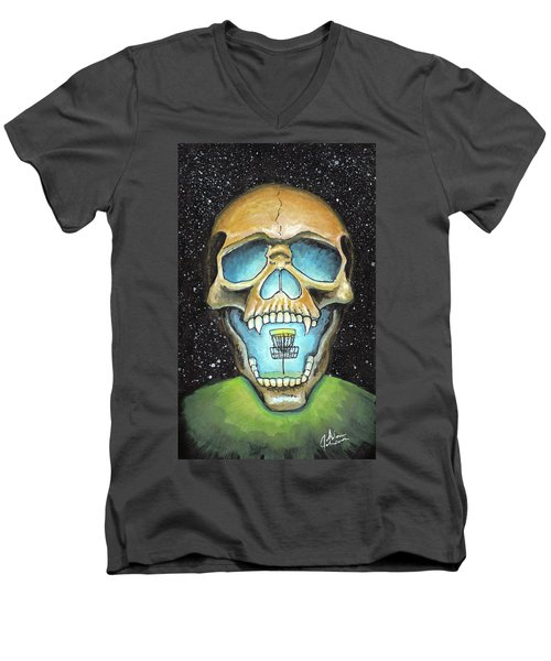 Basket Reaper Men's V-Neck T-Shirt