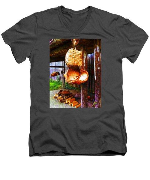 Basket Weavers 2 Men's V-Neck T-Shirt