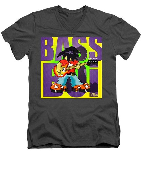 Bass Boi Men's V-Neck T-Shirt