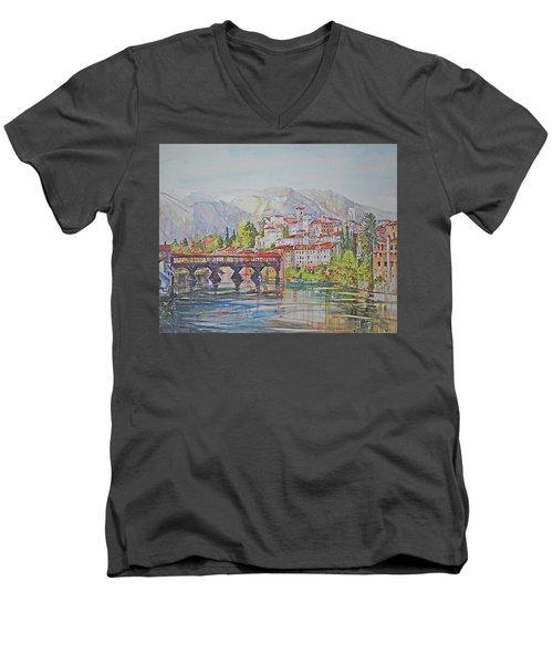 Bassano Del Grappa Men's V-Neck T-Shirt