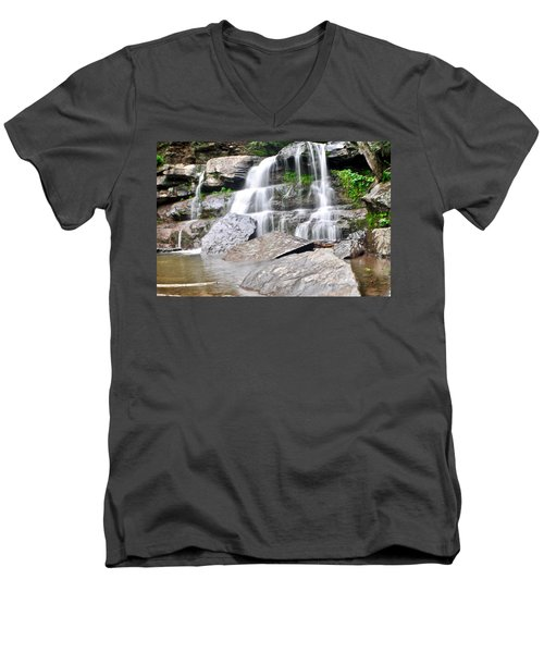 Bastion Falls Men's V-Neck T-Shirt