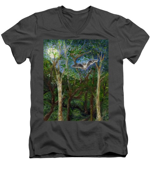 Bat Medicine Men's V-Neck T-Shirt