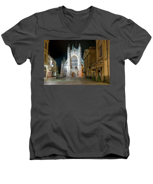Bath Abbey Men's V-Neck T-Shirt