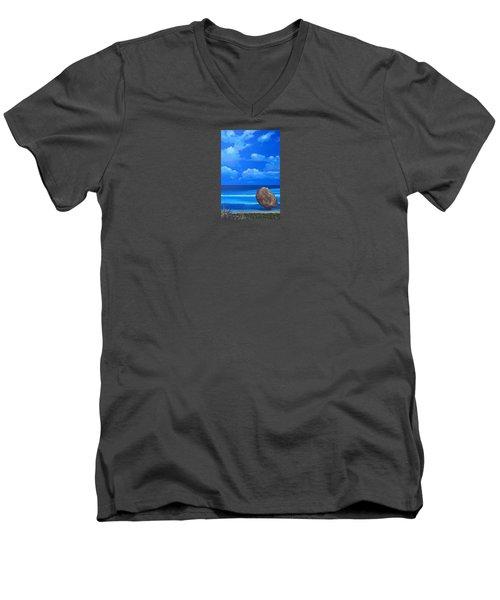 Bathsheba Men's V-Neck T-Shirt