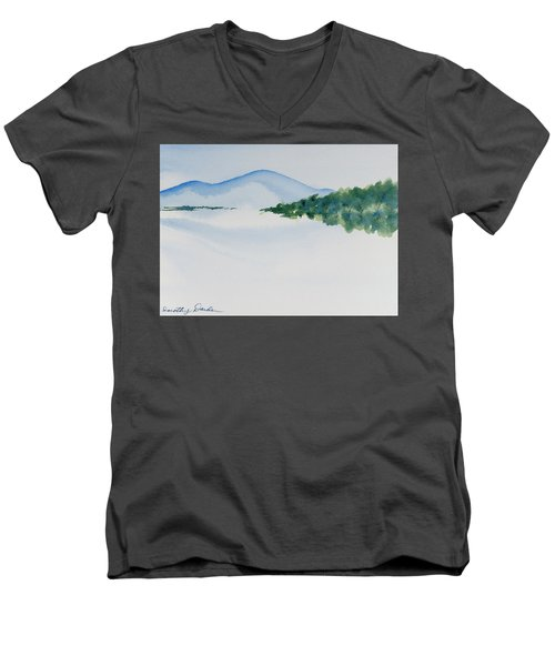 Bathurst Harbour Reflections Men's V-Neck T-Shirt