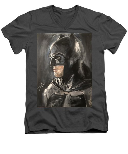 Batman - Ben Affleck Men's V-Neck T-Shirt