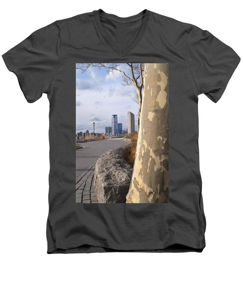 Battery Park Men's V-Neck T-Shirt