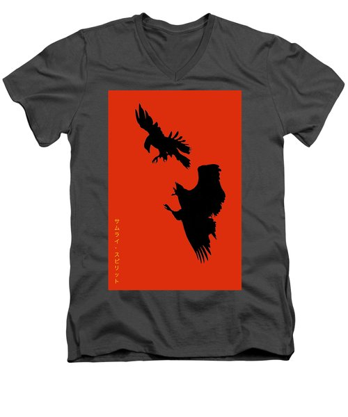 Battle Of The Eagles Men's V-Neck T-Shirt