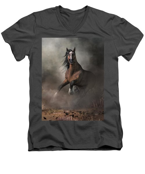 Bay Men's V-Neck T-Shirt