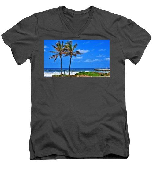 Bay Of Plenty 2 Men's V-Neck T-Shirt