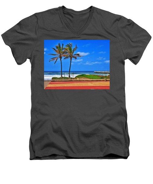 Bay Of Plenty Men's V-Neck T-Shirt