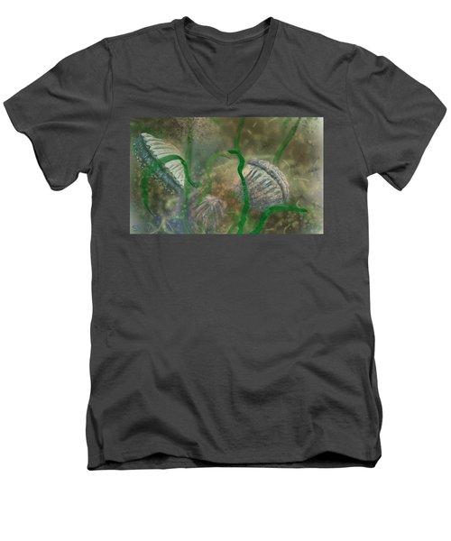 Bay Scallops Men's V-Neck T-Shirt