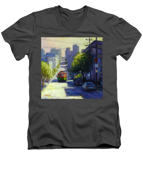 Bay Street San Francisco Men's V-Neck T-Shirt
