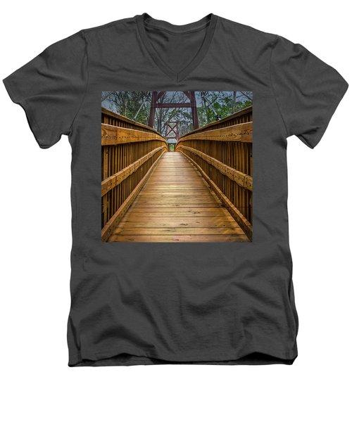 Bayou Foot Bridge Men's V-Neck T-Shirt